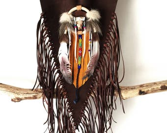 """Navajo"" Indian breastplate"