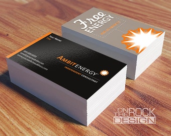 Custom Tree Trimming Service Business Cards Digital File Or - Ambit energy business card template