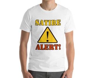 Satire Alert Funny T-shirt
