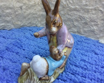 Beatrix Potter's Mr. Benjamin Bunny& Peter Rabbit