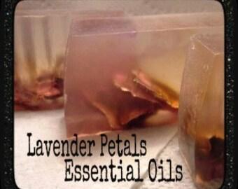 Lavender Petals Soap