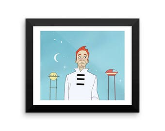 Framed Print - In a Distant Future