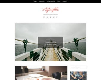 XBlogLite - A WordPress Blog Theme - WordPress Blog Theme - WordPress Blog Template - WordPress Theme - Blog Template - WordPress Theme Blog