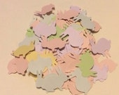 Bunny Rabbit Confetti Custom Colors Baby Showers Birthdays