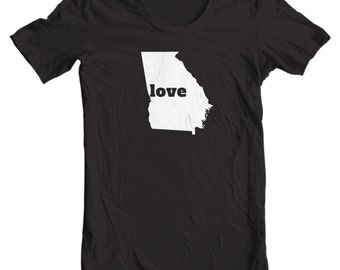 Georgia T-shirt - Love Georgia - My State Georgia T-shirt