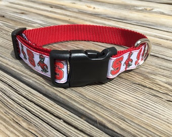 North Carolina State Dog Collar