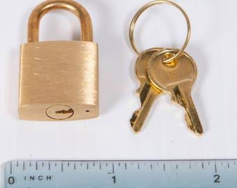 Small Brass Lock