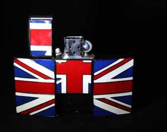 British Flag Lighter/Belt Buckle