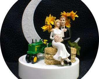 John Deere Wedding Cake Server