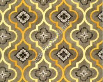 Felicity Fleur Geometric Gray - Wilmington Prints Q1810-42377-959 (sold by the 1/2 yard)