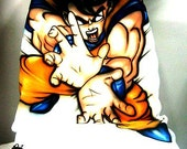 Items similar to 1x Airbrushed Dragon Ball Z Goku Car Seat Cover. on ...