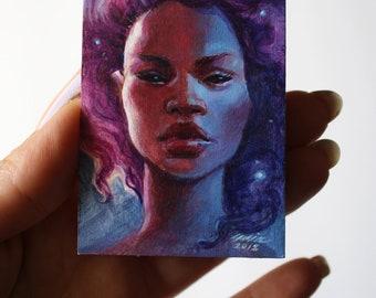 Stardust ORIGINAL Acrylic Study