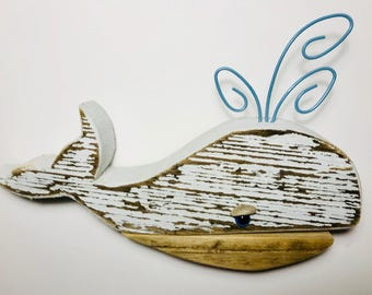Chunky Driftwood Mini Whale