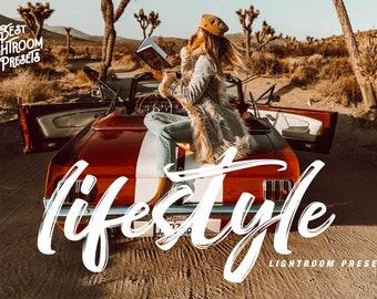 Lightroom presets blogger, lifestyle vsco presets, travel instagram, bright portrait, vibrant brown orange toasted, vsco cam A4 fashion