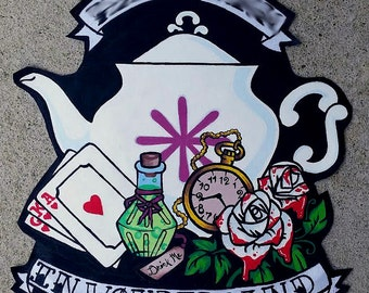 Alice in Wonderland Back patch