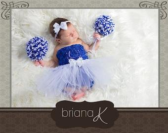 Cheerleader Crochet PATTERN, Size Newborn to Child