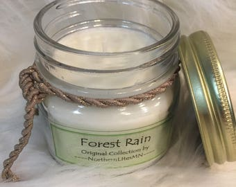 Forest Rain scented Candle (8oz).