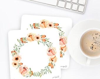 FW32 | Wreath Sticker | Decorative Sticker | Watercolor Sticker | Flower Sticker | Planner Stickers | Bullet Journal Stickers