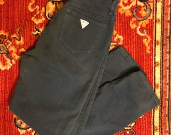 Teal High Rise Guess Jeans