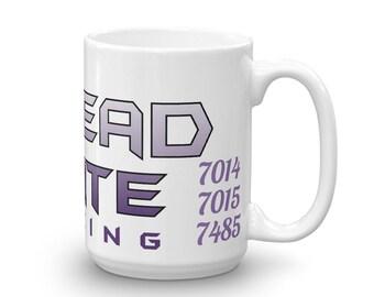 Dread Pirate Racing Coffee 15 oz. mugs