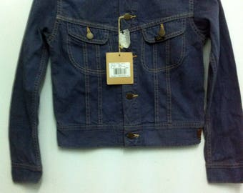 Women Fashion 109-JY Lee Denim Jacket Raides Small Size