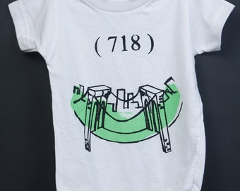 718 Brooklyn Bridge Onesie