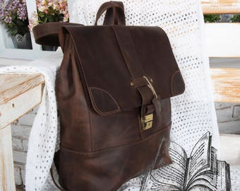 brown leather backpack,leather backpack laptop,leather backpack brown,leather backpack women,leather backpack men,backpack women laptop