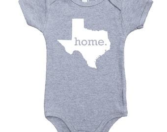 Homeland Tees Texas Home Unisex Baby Bodysuit