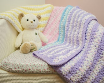 Crocheted Super Soft Baby Blanket
