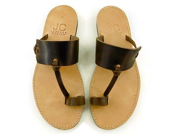 Leather Sandals, men sandals, brown sandals,BOHO sandals, Greek sandals, flat sandals, summer sandals, Beach sandals, hippie sandals