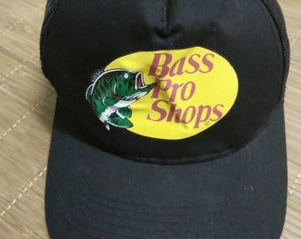 Rare Vintage BASS PRO SHOP Hat Cap