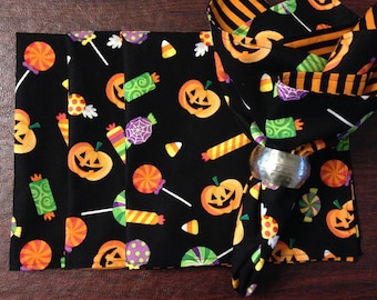 Halloween Fabric Napkins (set of 4)