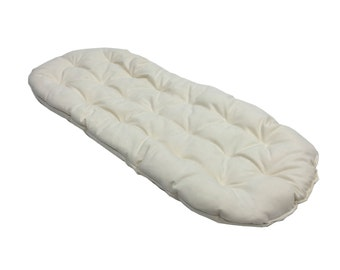 MB Futon, Two (2) fitted sheets 100% Organic Cotton and Wool puddle pad