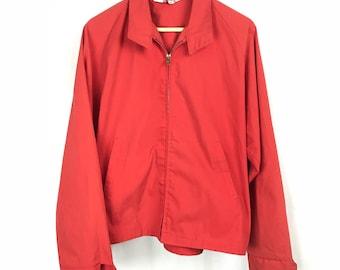 Orange Boy Scouts of America Zip Official Jacket
