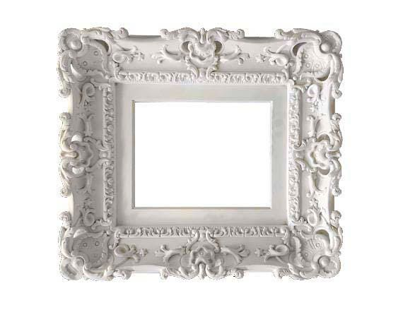 8x10 Shabby Chic Frame, Baroque Frame, Wedding Frames, Picture Frame ...