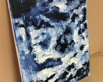 Ice - Oil on Canvas