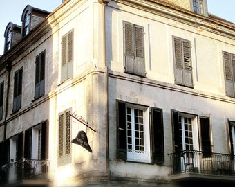 """New Orleans Photography, French Quarter """"Napoleon House #2"""" Picture, Louisiana Print. Mardi Gras. Wall Art and Home Decor."""