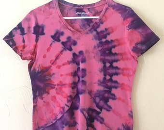 Tie-dye t-shirt- lady's large