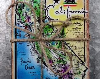 California Postcard - Pack of 12