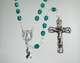 Teal Awareness Rosary