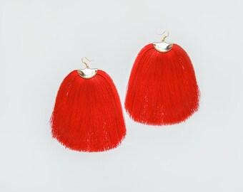 Mother Gift Dangle Earrings Gold Dangle Earrings Gold Earrings Boho Earrings Statement Earrings Bridal Earrings Large Earrings/ CAMILLI