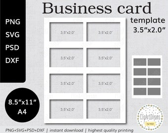 Business cards template etsy popular items for business cards template cheaphphosting Gallery