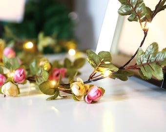 6.5FT Flower String Lights Chain Fairy Lights String for Wedding decoration Christmas and Garlands decoration