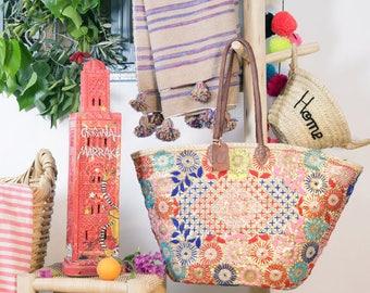 Original Marrakech flower tray basket