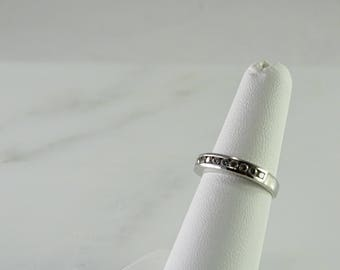 Sterling Silver Stackable Ring Size 6