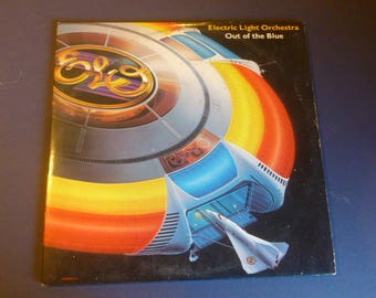 Electric Light Orchestra Out Of The Blue Vinyl Record LP JTLA-823-L2 1198 (2) Record Set  Jet Records 1977