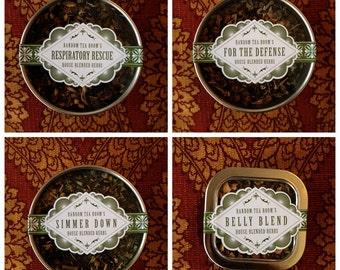 Herbal Blend Loose Leaf Tea Tin Sampler