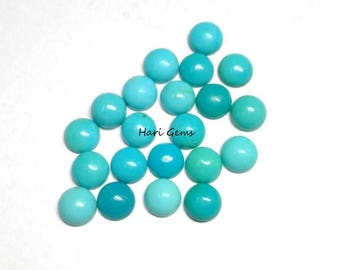 10 Pieces 3mm Turquoise Cabochon Round Gemstone AAA Quality 100% Natural Arizona sleeping beauty Turquoise Round Cabochon Turquoise Cabochon