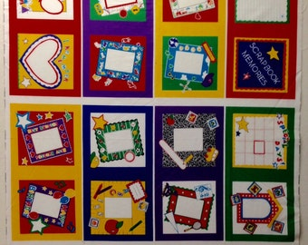Make a Memories Scrap Book Fabric Panel