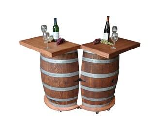 1024 Wine Barrel Portable Folding Bar